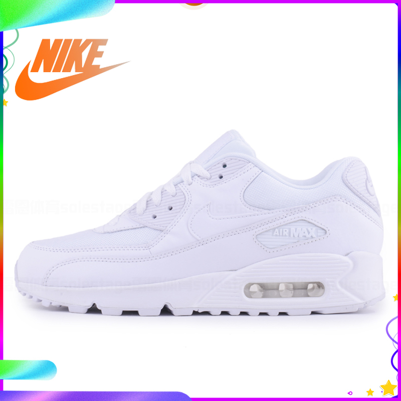 Original authentique NIKE hommes AIR MAX 90 essentiel respirant chaussures de course baskets Sport en plein AIR confortable 537384-073