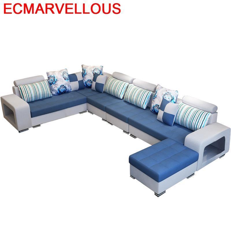 Meuble Maison Sectional Recliner Sillon Kanepe Asiento Moderna Puff Para Mobilya Set Living Room Furniture Mueble De Sala Sofa