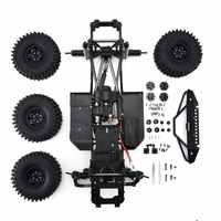 AUSTAR 50006 Metel Front Bridge Axle Shaft for 1/10 Axial SCX10 II RC4WD RC Crawler Climbing Car Upgrade Parts