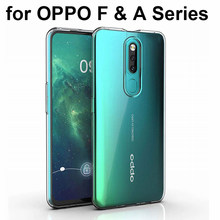 Coque en Silicone Transparent anti-rayures anti-rayures pour OPPO A11X A9 A5 2020 F11 Pro F9 F7 F5 A7X A1 A3S A83(China)