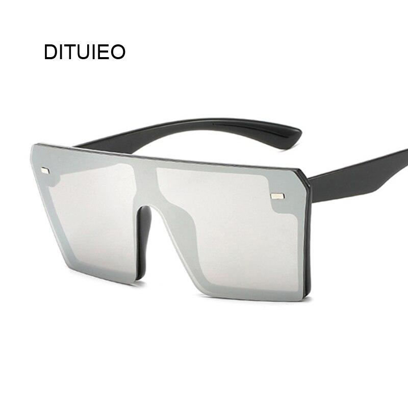 New Fashion Women Luxury Brand Square Sunglasses Ladies Vintage Oversize Sun Glasses Female Big Frame Shades Black Uv400