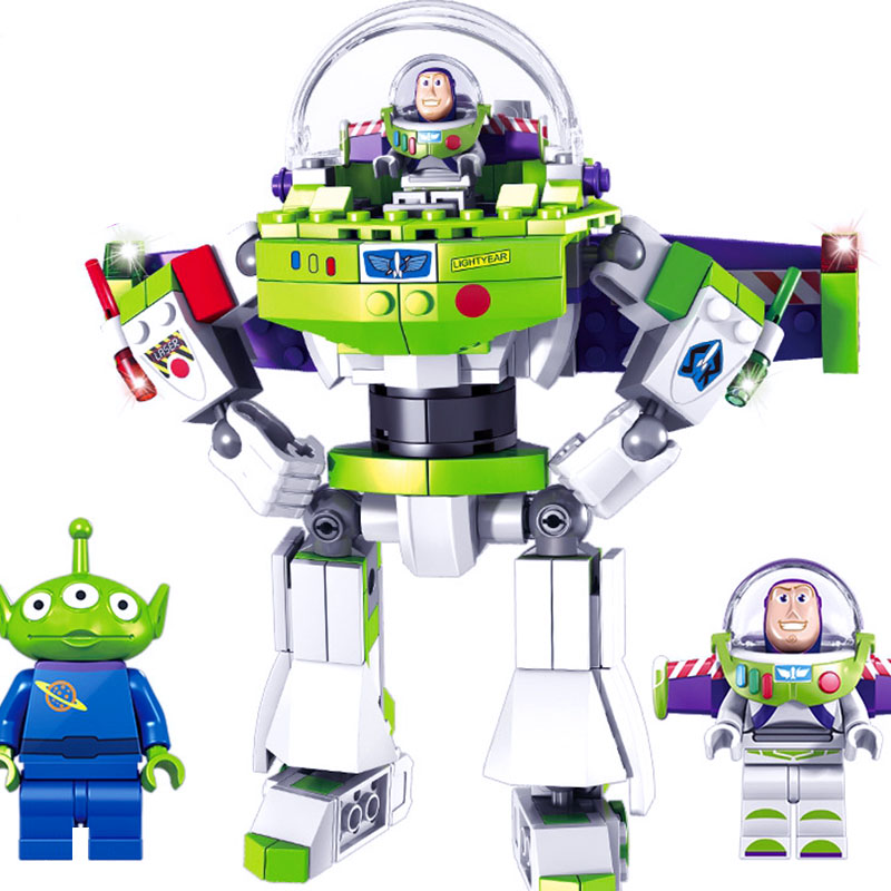 243PCS Legoings Toy Story 4 Original Buzzed Building Model Blocks Set Lightyear Space Bricks Movie 2 Toys For Children
