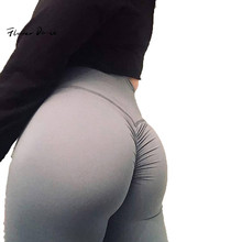 FlowerDance Pencil Leggins Yoga Pants Sport Women Fitness Slim Push Up  butt lift