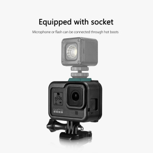 Image 4 - Vamson for Gopro Hero 8 Frame Case Border Protective Cover Housing Mount Base for Go pro Hero 8 protection Accessory VP652