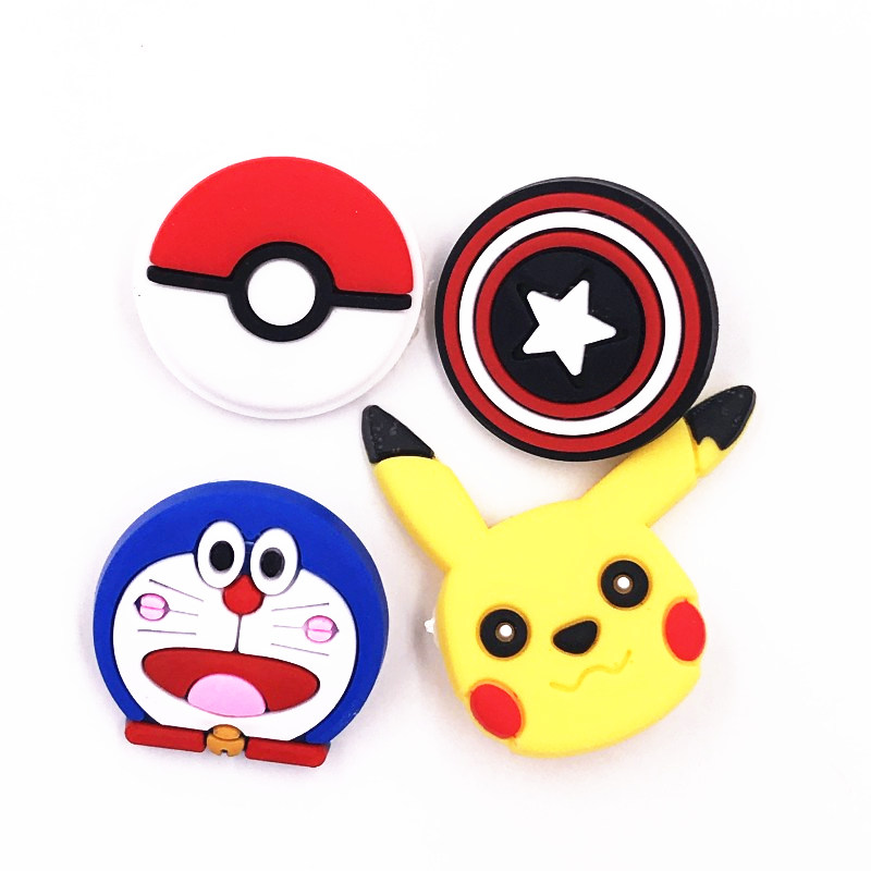 Pikachu Pokemon Enamel metal  pin badge Large badge with two fasteners