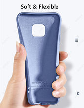 For Xiaomi Poco M2 Pro Case for Xiaomi Poco F2 Pro X2 Cover Original Liquid Silicone Case For Xiaomi Redmi Note 9 Pro 9S 9A 9C 8
