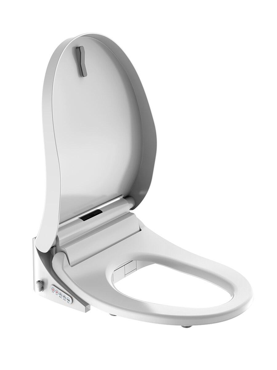 Foheel bidé elétrico cobre luz led wc
