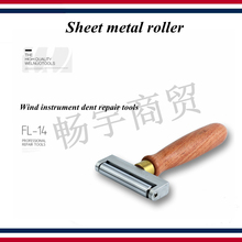 Wind instrument dent repair tools Sheet metal roller  Saxophone trumpet trombone French horn tube mouth tool