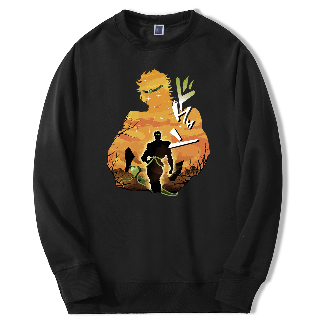 Jojos Bizarre Adventure Hoodie Men Dio Japan Anime JOJO Hoodies Sweatshirt Fleece Sportswear New Arrival Crewneck Sweatshirts