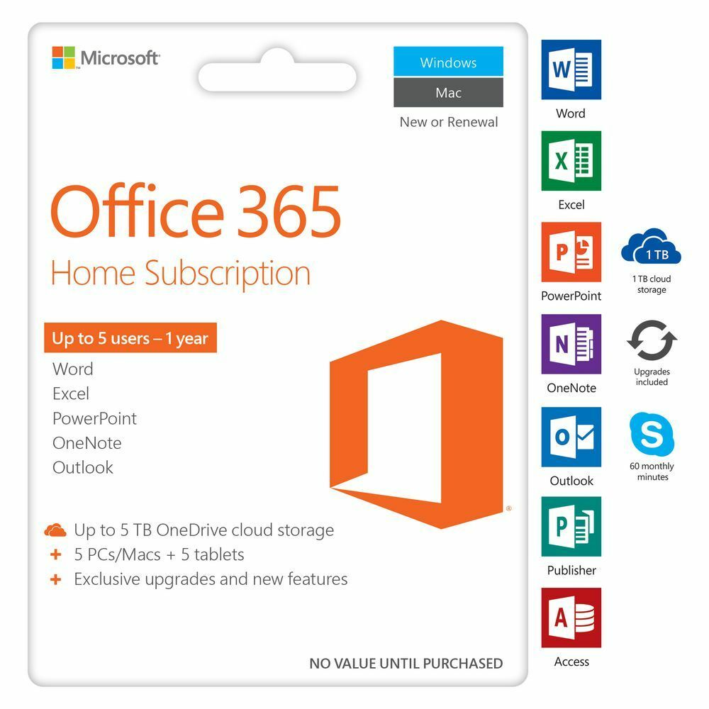 Microsoft Office 365 10 Years Account For All Language Version Office 365