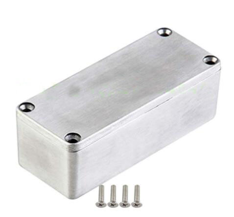 1590A Style 92x38x31mm Aluminum Metal Stomp Box Case Enclosure For Guitar Effect Pedal