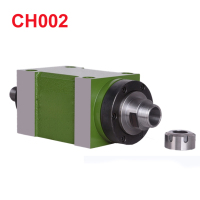 CH002 0.37KW Power Head Unit CNC Machine Tool Spindle for Milling Machine Max.RPM 8000RPM/300RPM Taper Chuck BT30 MT3 ER25