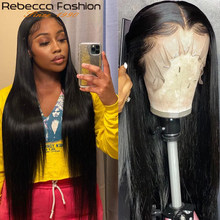 Perruque Lace Frontal wig 360 brésilienne naturelle lisse, cheveux lisses, pre-plucked, pour femmes