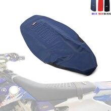 Motorrad Greifer Weichen Sitz Abdeckung Nicht-slip Diamant Muster Stretchy Wasserdicht Für KTM 125-450 SX SXF EXC XC-W HONDA CRF250R