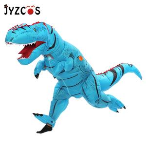 Image 3 - JYZCOS Dinosaur T REX Inflatable Costume for Women Men Kid Carnival Costume Halloween Cosplay Costume Mascot Party Purim Costume