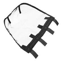 Сетчатая Маска для носа лошади, дышащая Съемная противомоскитная защитная маска для лица, маска для конного спорта, оборудование для питания(L