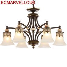 Lustre Pendente Lampara Colgante De Techo Deco Cuisine Decor Lamp Suspension Luminaria Loft Luminaire Suspendu Pendant Light
