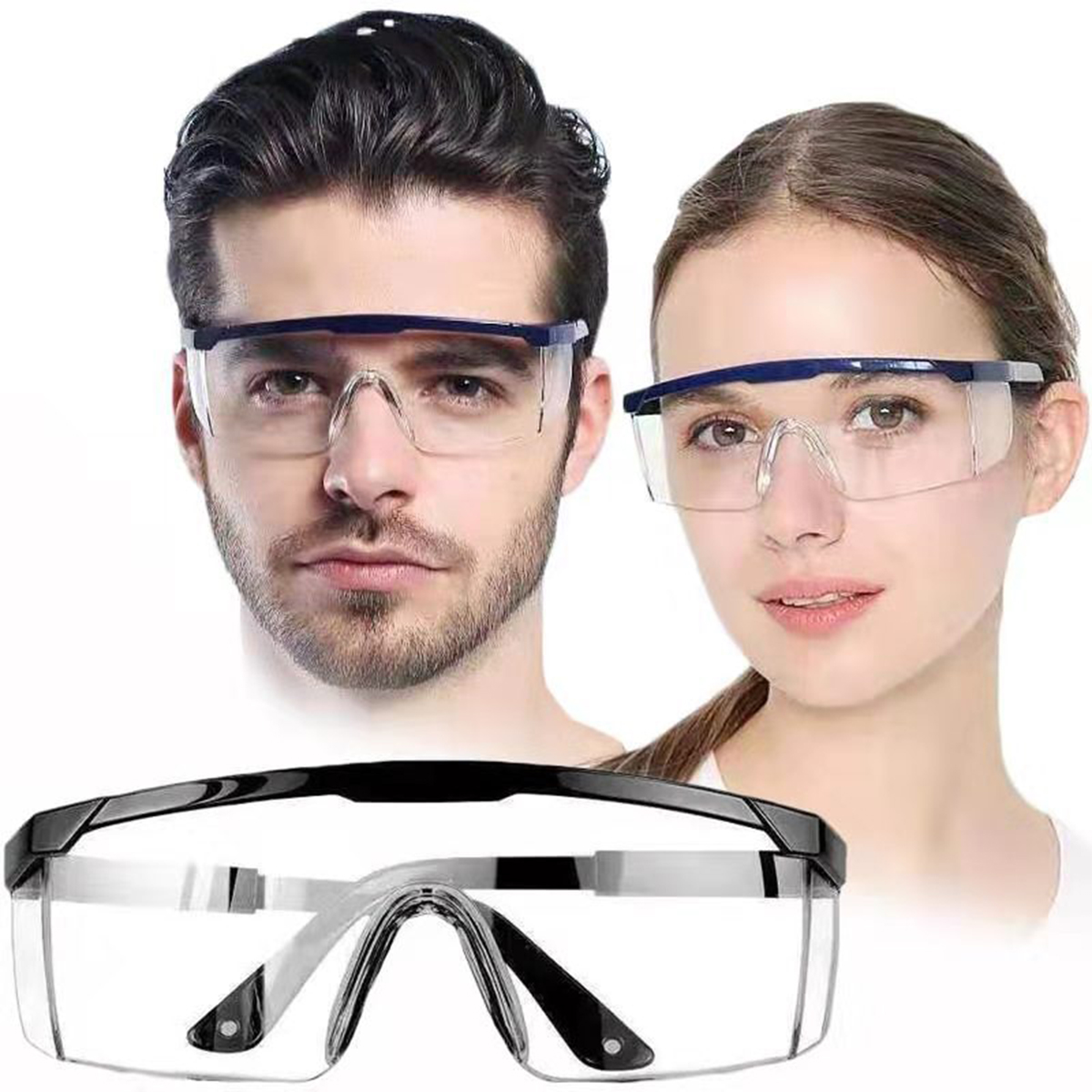 NEW Dustproof Spit Saliva Goggles Safety Glasses Anti-dust Anti Fog