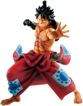One Piece - Monkey D Luffy on Kimono