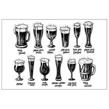 Cheers Beers Clear Stamp For Scrapbooking Transparent Silicone Rubber DIY Photo Album Decor