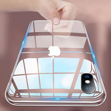 Роскошный Ударопрочный силиконовый чехол для телефона iPhone 7 8 6 6S Plus X XS Max iphone 11 pro Max, прозрачные защитные чехлы