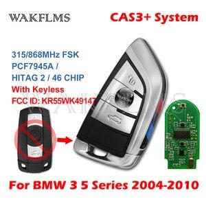 Image 4 - 3 Buttons Remote Key 433MHz 315MHz 315LP MHz 868MHZ for BMW 1 3 5 6 Series X1 X6 Z4 E60 E70 E71 E91 E92 2004 2015 CAS3 CAS3+