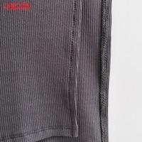 Tangada Women Solid Knit Tank Dress Square Collar Sleeveless 2021 Fashion Lady Sexy Midi Dresses Vestido 4P34 5