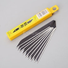 Knife-Tools Razor-Blades Replacement 30-Degrees Snap-Off Utility 9mm NB-39 10pcs Carbon-Steel