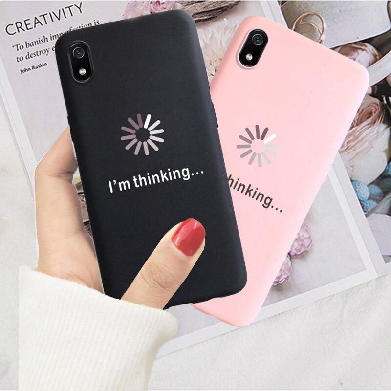 Soft Cover Phone Case For Xiaomi Redmi 7A 8A GO K20 Redmi5 Plus 8 6 Pro S2 Note 4X 5 Pro 5A Prime 6 7 8 Pro 8T Back Cover Cases