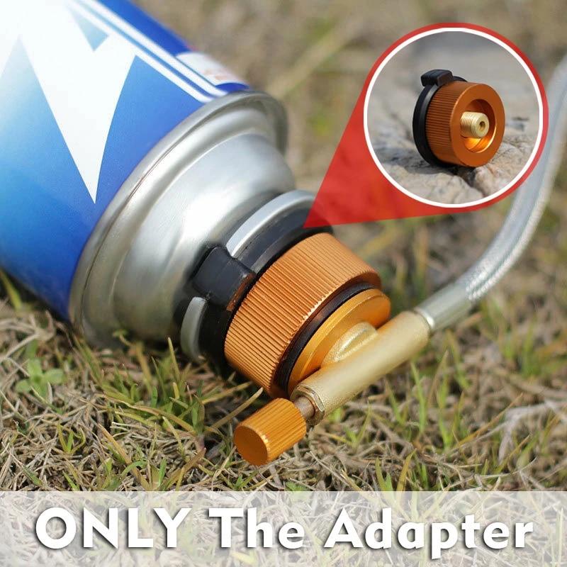 Gas Stove Tripod Adapter Converter Camping Outdoor Burner Picnic Head Tool