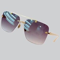 Солнцезащитные очки Квадратные женские Солнцезащитные очки женские очки Золотая оправа UV400 тени модные для вождения Новинка