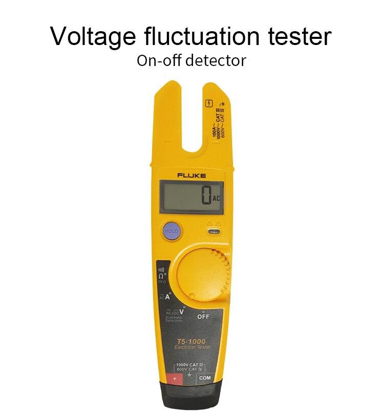 Fluke T5-1000 testador de continuidade de tensão,