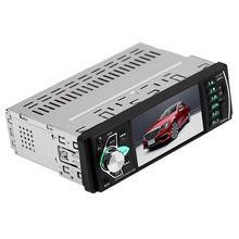 Универсальный автомобильный mp5-плеер, Bluetooth, 1 Din, 4,1 дюйма, FM, аудио, стерео, радио, один Din, управление рулевым колесом, автомобильный мультимед...