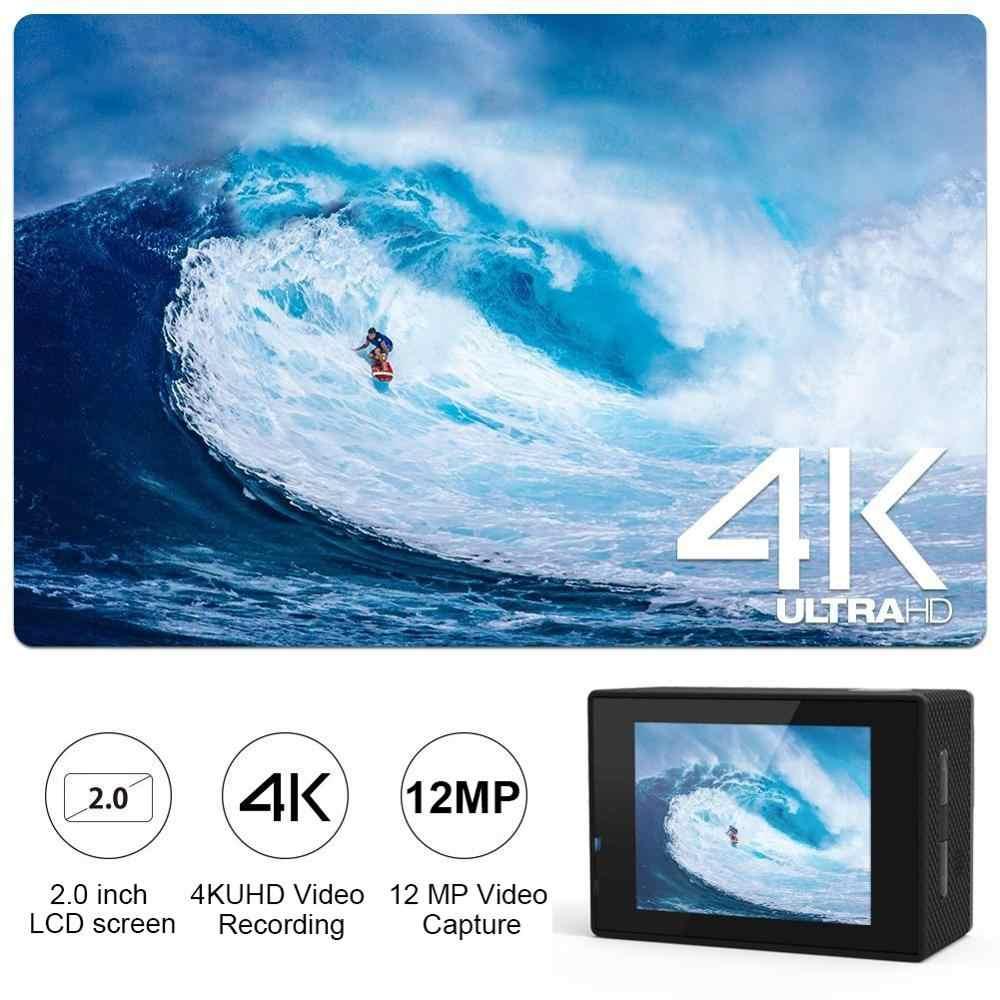 H9 الترا HD 4K عمل كاميرا WiFi 2.0 LCD 12MP 170 زاوية واسعة الذهاب مقاوم للماء برو كاميرا رياضية في الهواء الطلق المتطرفة الرياضة كاميرا فيديو