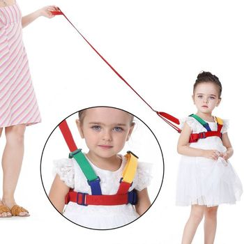 1PC Anti-Lost Band Baby Kid Child Safety Harness Anti Lost Strap Wrist Leash Walking Backpack For 1-10 Year Old Children