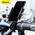 Держатель для телефона Baseus Bike для iPhone Xs Max Xr механический фиксатор кронштейн для мотоцикла регулируемая поддержка gps подставка для телефона ...