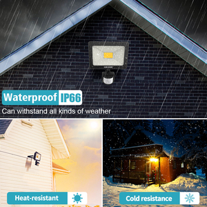 Image 3 - 25W Motion Sensor LED Flood Light AC110/220V Waterproof LED Floodlight Outdoor Spotlight Security Lamp for Garden Corridor