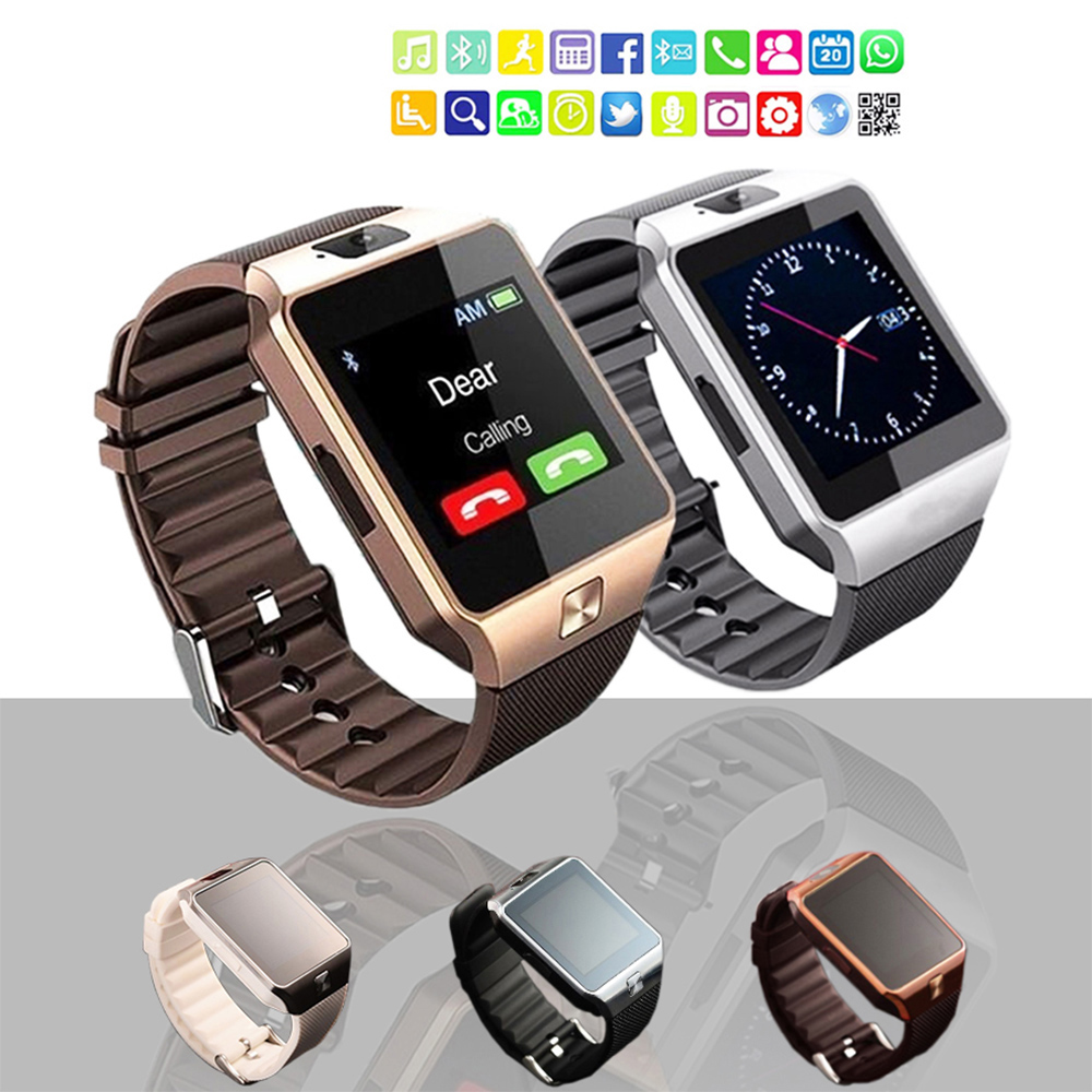 New Smart Watch DZ09 Pedometer Clock With Sim Card Slot Push Message Bluetooth Connectivity SmartWatch2020 For All smartphone 1