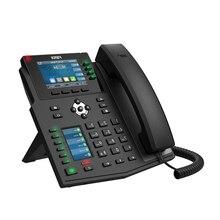 Fanvil высококлассный ip-телефон X5U WiFi телефон для офиса предприятия ip-телефон поддержка гарнитуры Bluetooth WiFi SIP стационарный телефон