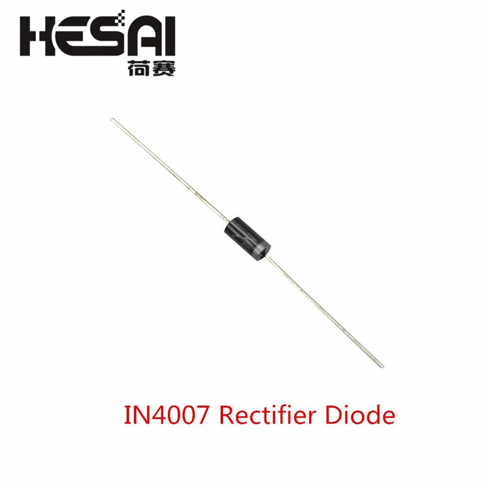 Диод выпрямителя IN4007 1N4007 4007 1A 1000V DO-41 DO 41