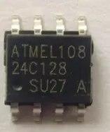 10pcs/lot AT24C128N  24C128 SOP-8 IC 20pcs lot lda200 sop