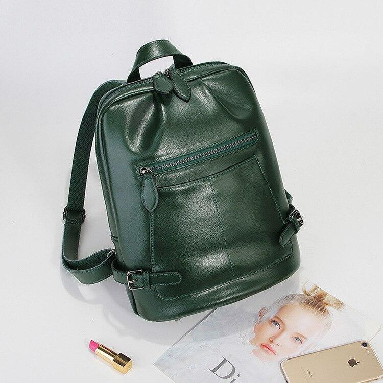P-F sac 2019 mode femmes sac à dos de haute qualité en cuir sacs à dos pour adolescentes femme école sac à bandoulière sac à dos mochila