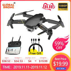 Zangão global exa zangão dobrável rc drones com câmera hd 1080 p mini quadcopter alta espera helicóptero quadrocopter dron vs e58 e520