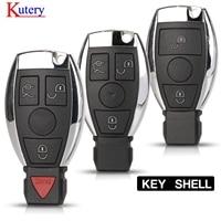 kutery 10pcs/lot Remote Car Key Shell Case 2000+ NEC BGA For Mercedes For Benz A B C E Class W203 204 205 210 211 212 221