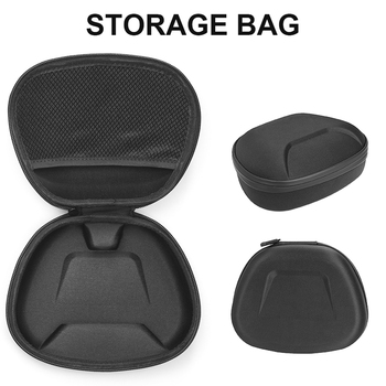 For DualSense Gamepad Protective Case Portable Storage Bag Shockproof Dustproof Cover Shell For PS5 Game Controller Accessories