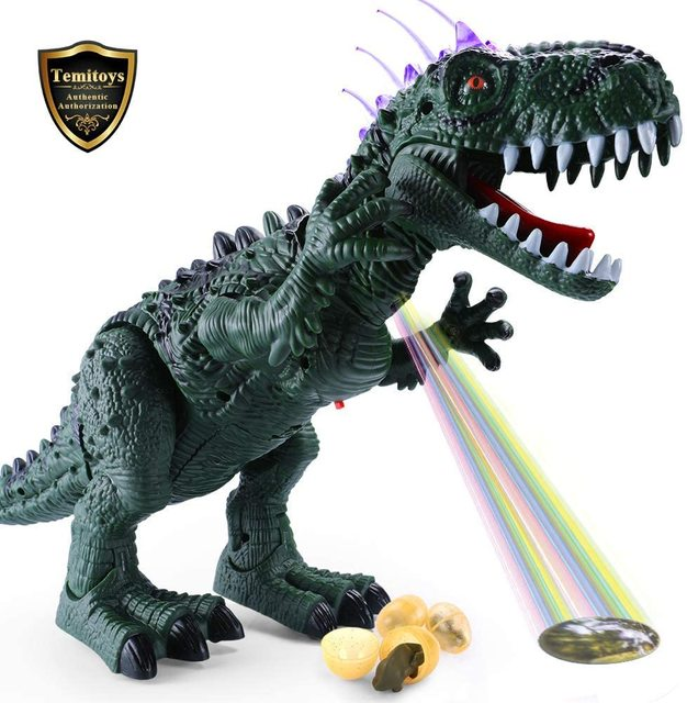 TEMI Electric Dinosaurs Sound Light Toy Excavation Robot Jurassic Animals T Rex Educational Toys for Childrens Boys 1