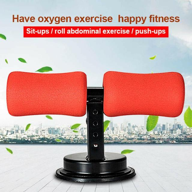 Sit-ups auxiliary suction cup type
