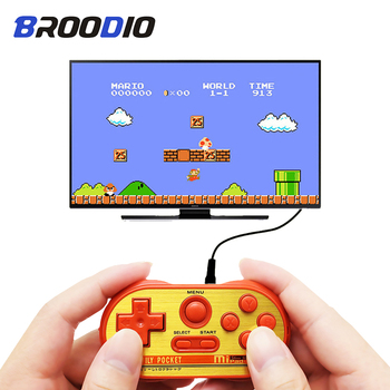 Video Game Console Built in 20 Classic Games 8 Bit Handheld Game Classic NES Mini Retro Console Controller AV Output Dual Player coolbaby hdmi out retro classic handheld game player family tv video game console childhood built in 600 games for nes mini p n