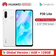 Global Version Huawei P30 Lite 6GB 128GB Smartphone P30Lite 6.15 inch Kirin 710
