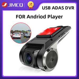 JMCQ USB ADAS Car DVR Dash Cam Full HD For Car DVD Android Player Navigation Floating Window Display LDWS G-Shock